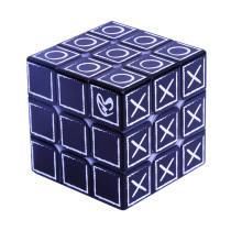 3x3 Blind Fingerprint Relief Effect Magic Cube