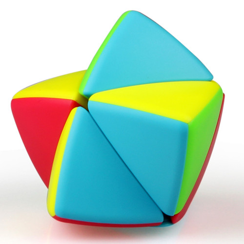 Qiyi 2x2 Mastermorphix Magic Cube Educational Toys - Colorful