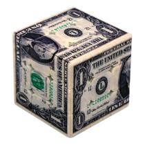 UV Printing Dollar Pattern 3x3 Magic Cube
