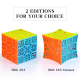 Qiyi NDA 3x3 Concave Magic Cube - Vivid Color