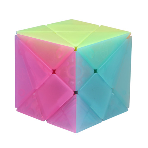 Qiyi Axis Magic Cube Puzzle Cube - Jelly