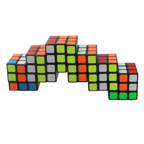 Cube Twist Six 6x6 Conjoined Magic Cube - Black