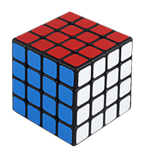 Shengshou 4 X 4 M Magic Cube - Black