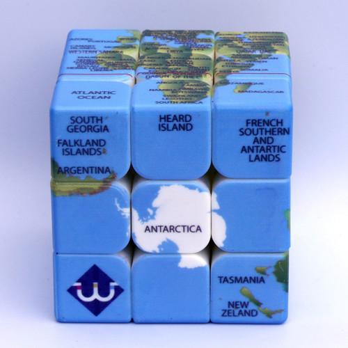 3x3 Earth Pattern Magic Cube Speed Cube