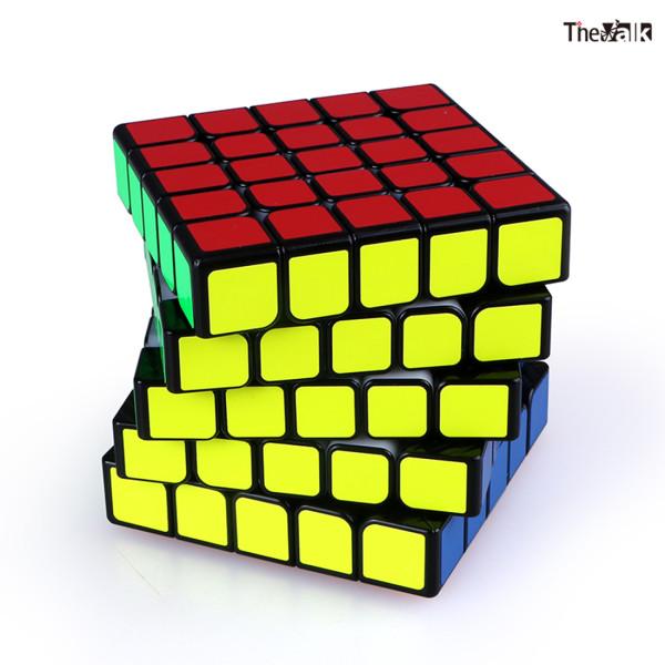 Qiyi 133 Valk 5 M Magic Cube Square Cube - Black