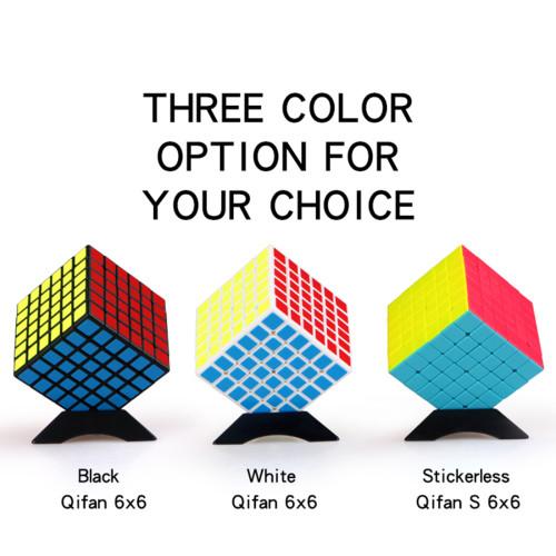 QIyi Qifan 6 x 6 Magic Cube - Black