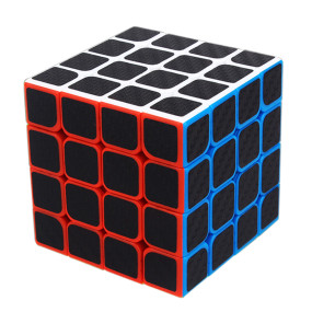 Carbon Fiber 4x4 Magic Cube