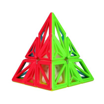 Qiyi DNA Pyramid Magic Cube - Stickerless