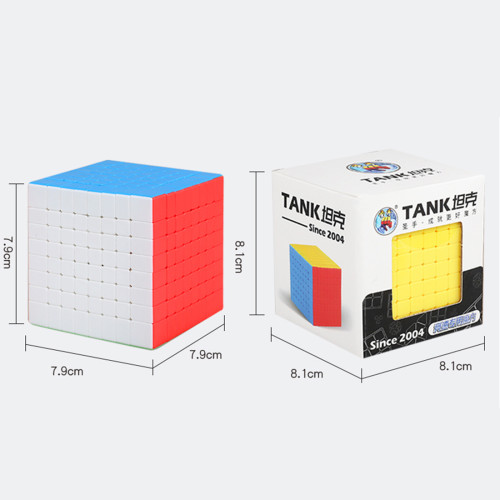 Shengshou Tank 8 x 8 Magic Cube - Stickerless