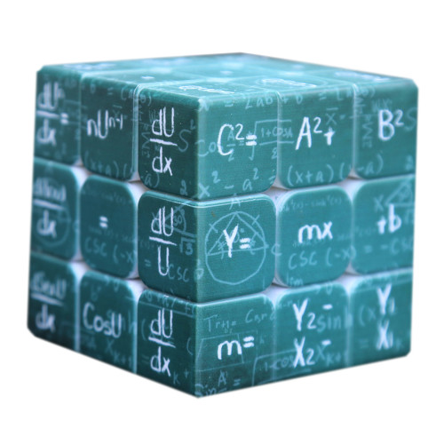 Fangmo UV Physical 3x3 Magic Cube - Green