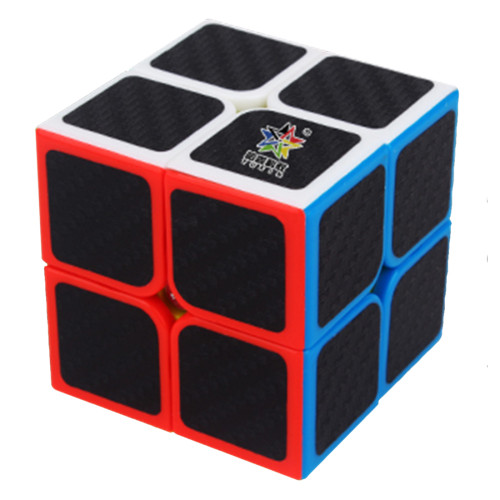 Yuxin Carbon Fiber 2x2 Magic Cube