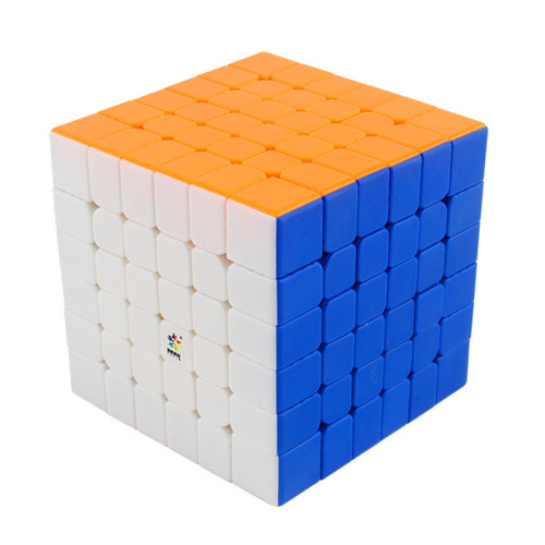 YuXin Little Magic 6x6 M Magic Cube - Stickerless