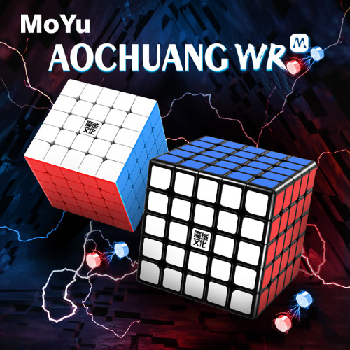 Upgrade + Premium Lubricants MoYu Aochuang WR M 5x5 Magic Cube