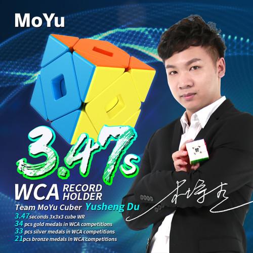MoYu Meilong Double Skewbcube Magic Cube - Stickerless
