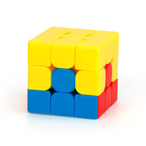 MFJS 3x3 Bump Teaching Puzzle Series Magic Cube - Stickerless
