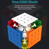 MoYu AoSu WR 4x4 Magic Cube - Black/Stickerless
