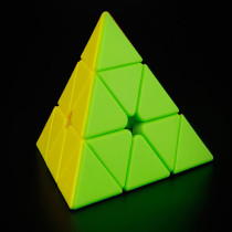 MoYu Custom Pyraminxcube 3x3 M Magic Cube - Stickerless