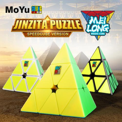 MFJS MeiLong Custom Pyraminxcube Magic Cube - Stickerless
