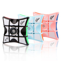QiYi Mofangge Spinner Magic Cube - Blue/Pink