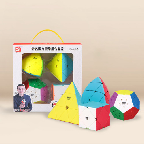 Qiyi Special Shaped Magic Cube Set