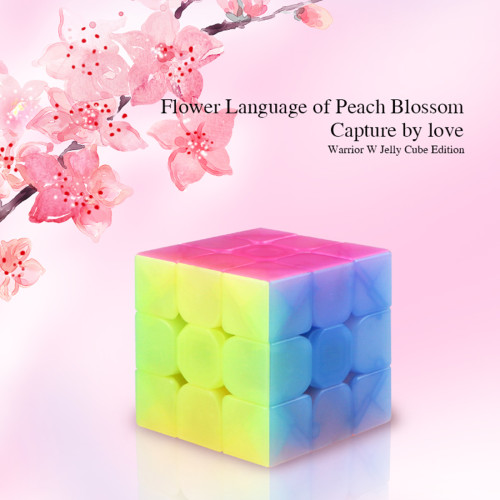 Qiyi Yongshi W 3x3 Magic Cube Educational Toys for Brain Trainning - Jelly Color