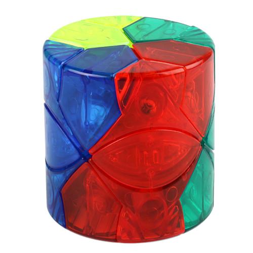 MFJS Barrel Redi Magic Cube - Transparent Stickerless