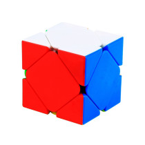 Yuxin Little Magic Skewbcube Magic Cube - Black/Stickerless