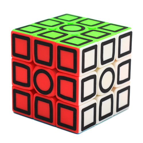 Zcube 3x3 Magic Cube - Carbon Fiber