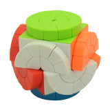 Time Machine 2x2 Magic Cube Brain Teaser Puzzle Toy - Colorful