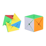 Shengshou 8 Axis 3x3x3 Magic Cube - Frosted Colorful