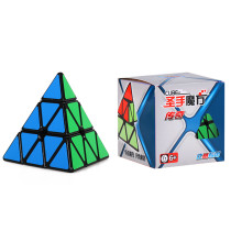 Shengshou Legend 3x3 Pyramid Magic Cube- Black