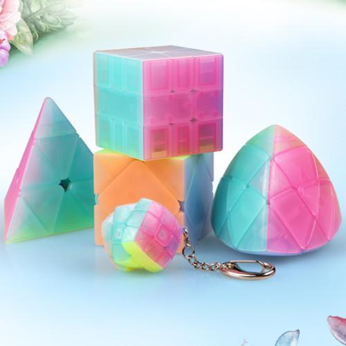 Qiyi Qifa S SQ-1 Magic Cube- Jelly Color