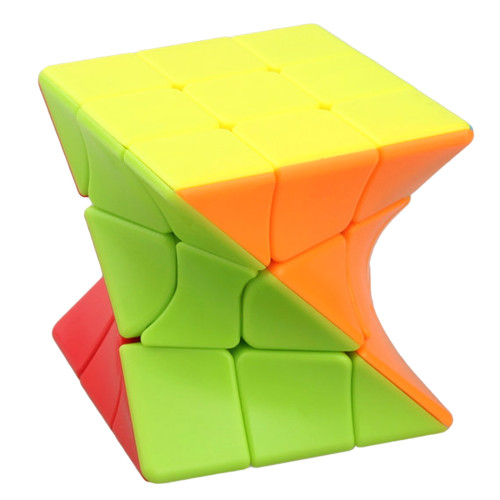 FanXin 3x3 Twist Magic Cube - Stickerless