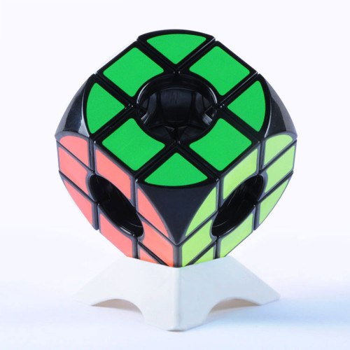 Arc Hollow 3x3 Magic Cube - Black/White