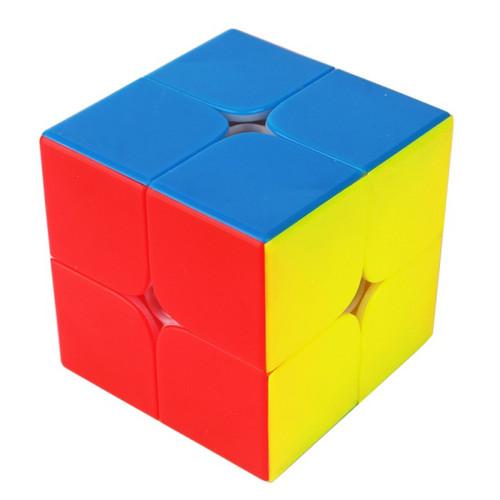 YuXin Little Magic 2x2 Magic Cube - Black/ Stickerless