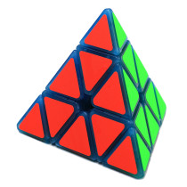 Zcube 3x3x3 Pyramid Magic Cube with Blue Night Light
