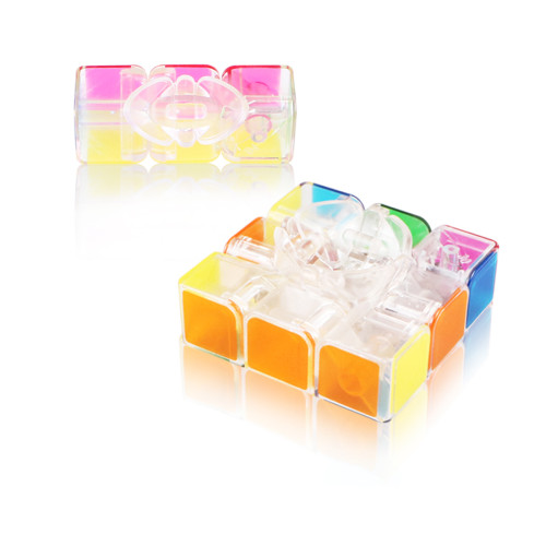 QiYi Mofangge Qihang 3x3 Magic Cube -Transparent