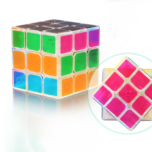 QiYi Mofangge Qihang 3x3 Magic Cube -Transparent