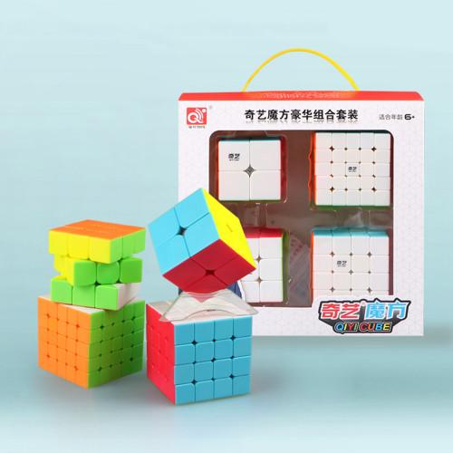 Qiyi 2x2 3x3 4x4 5x5 Magic Cube Set