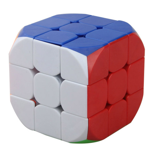 Cube Twist Obtuse Angle Type 3x3x3 Magic Cube - Colorful