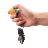 Qiyi 3x3x3 Magic Cube Puzzle Toy with Key Ring