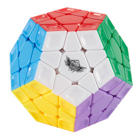 Cyclone Boys Rainbow Pattern Magic Cube- Colorful