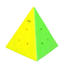 Qiyi Mofangge Pyraminxcube 4x4 Magic Cube - Stickerless/Black