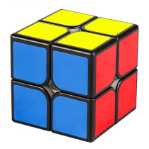 SenHuan ZhanLang M 2x2 Magic Cube - Black/Stickerless