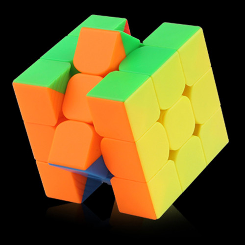 YuXin Black Kirin 3x3 Magic Cube - Stickerless