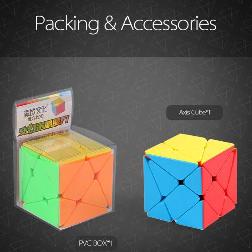 MoYu Axis Magic Cube - Stickerless