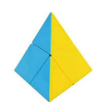 Lefang 2x2x2 Pyramid Magic Cube - Colorized