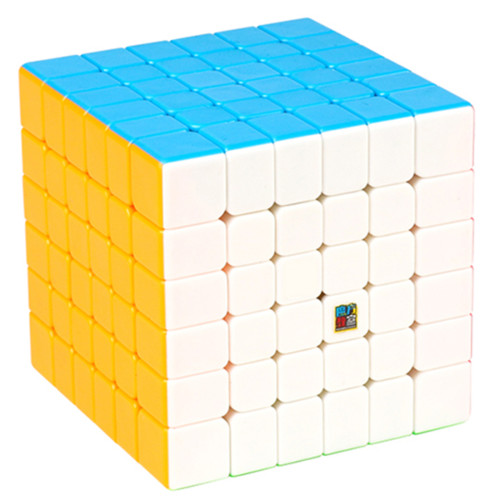 MF8843 Cubing Classroom MF6 6x6 Magic Cube Brain Teaser Puzzle Toy - Colorful