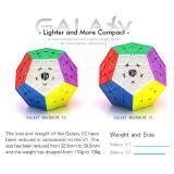 Qiyi Galaxy Megaminxcube V2 Magic Cube - Stickerless (Sculpted)