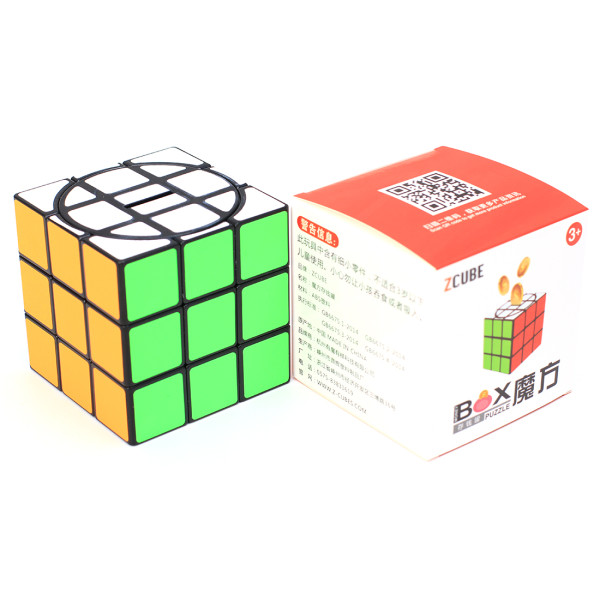 ZCUBE 3x3 Money Pot Magic Cube- Colorful
